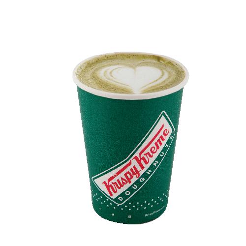 Hot Green Tea Latte